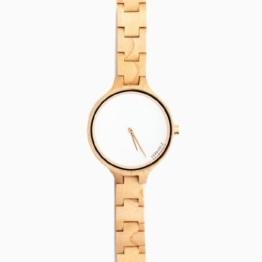 Kerbholz Damen-Armbanduhr Analog Quarz Holz 104006V000001 -