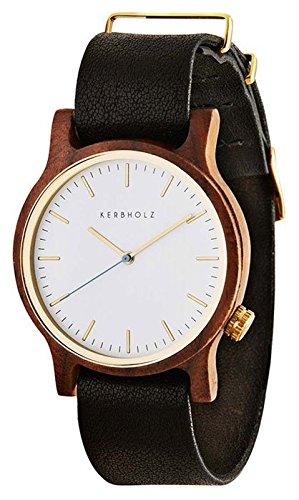 Kerbholz Damen-Armbanduhr Analog Quarz Kunstleder 104007V000003 -