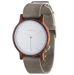 Kerbholz Herren-Armbanduhr Analog Quarz Kunstleder 104000V000002 -