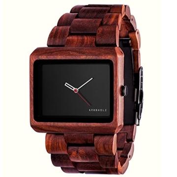 Kerbholz Unisex-Armbanduhr Analog Quarz Holz 104002V000002 -