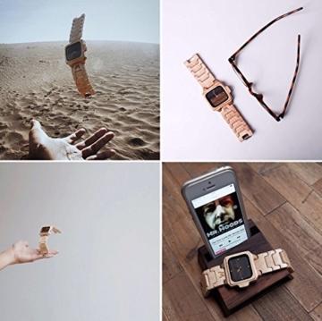 MATOA Sumba - Holz-Armbanduhr handgefertigt aus Kanadischem Ahorn -
