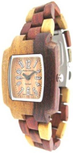 TENSE Womens Timber Premium Holzuhr M8102I - Natürliches Sandelholz M8102I -