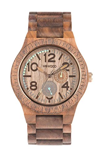 Watch in Wood Wewood KARDO Nut -
