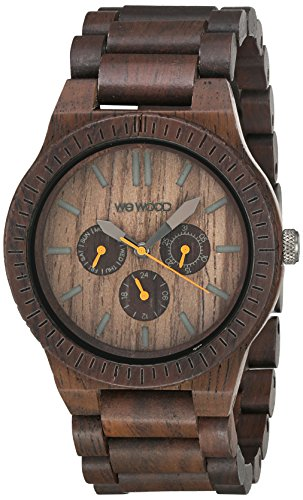WeWood Kappa Chocolate Multifunktionsuhr WW15003 -