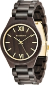 REDMONT Herrenuhr mit Holzarmband Analog Quarz Classic Collection Gold Edition - 1